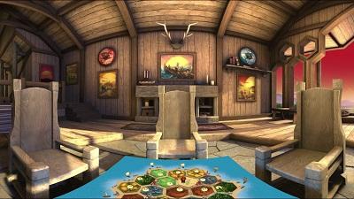 Catan VR Gameplay
