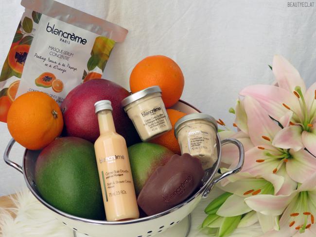 avis soins blancreme mangue papaye