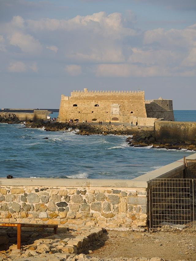 Heraklion: Koulés, het fort in Heraklion