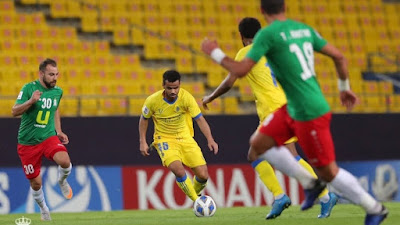 ملخص اهداف مباراة النصر والوحدات (1-2) دوري ابطال اسيا