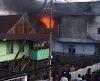 Kembali, Kebakaran Terjadi Di Pacongang Pinrang Rumah Lantai dua Dilalap Api