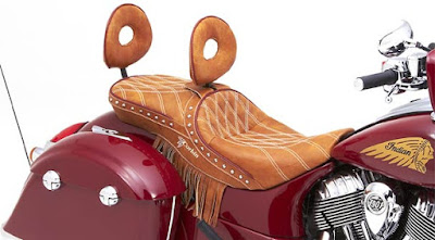 2016 Indian Scout Sixty Cruiser Motorcycle rear seat picture