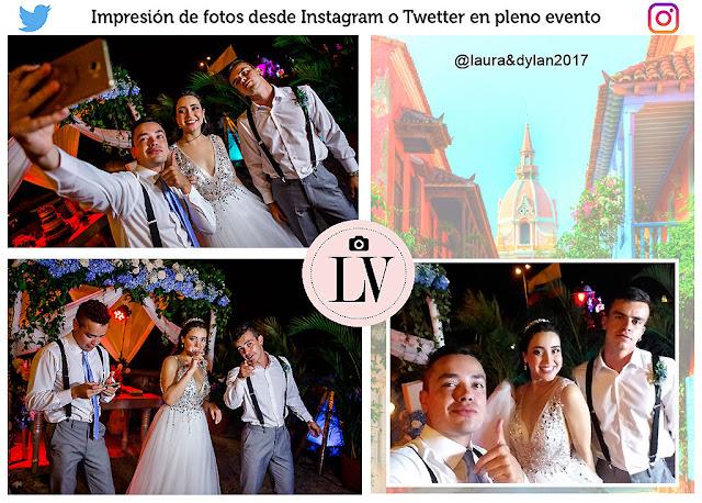 Compartir las fotos desde las redes sociales