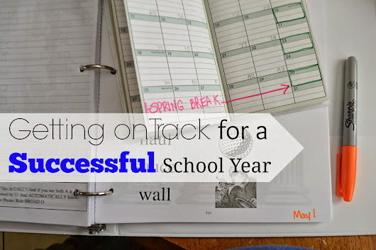 {Lesson Planning and Getting on Track for a Successful School Year}
