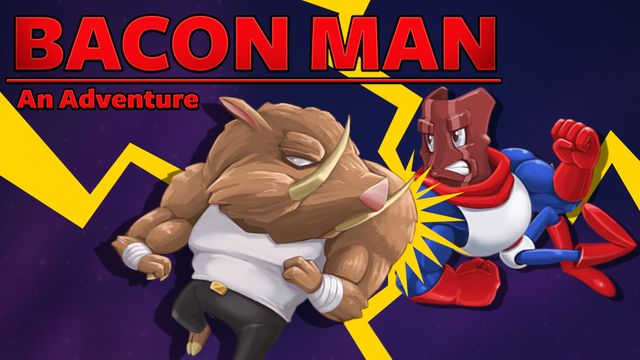 Bacon Man: An Adventure v1.0 NSP XCI For Nintendo Switch