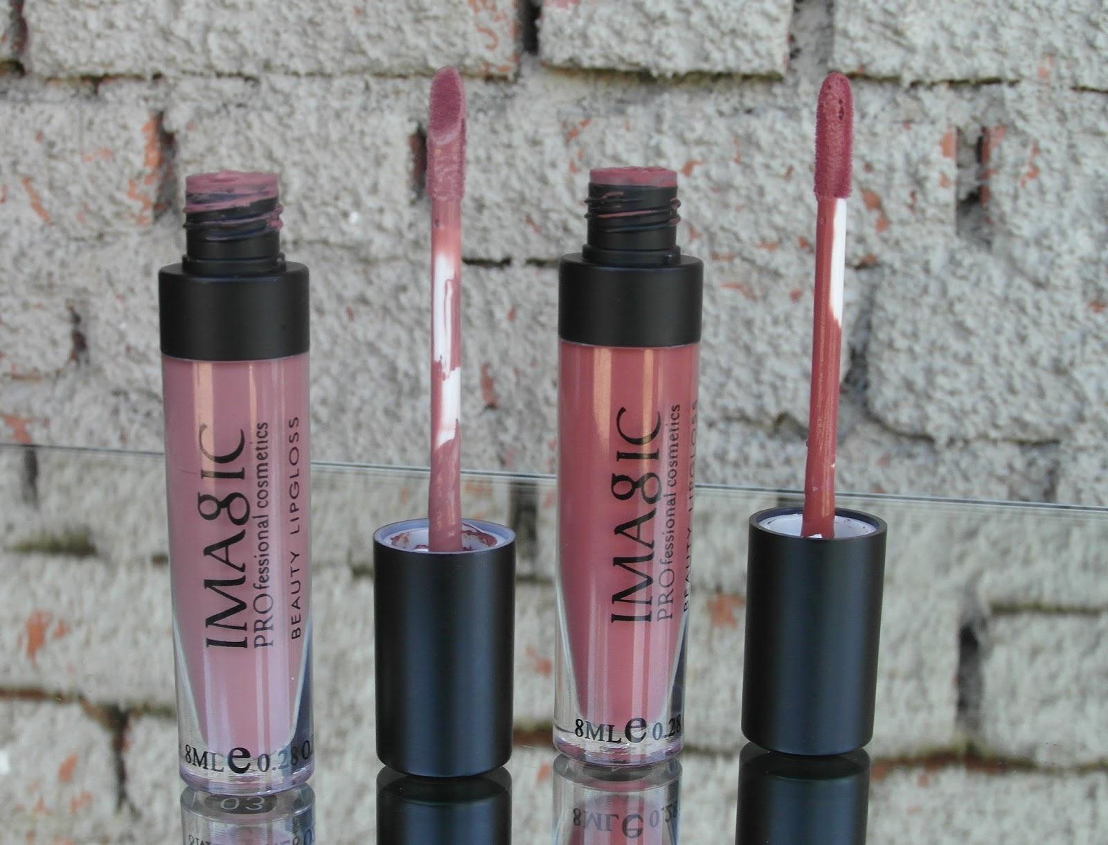 IMAGIC liquid lipstick in the shades 03 & 04!
