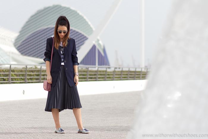 Blogger influencer de Valencia en la Ciudad de las Artes y las Ciencias