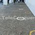 Municipalidad de Cauquenes pinta demarcaciones en sitios de aglomeración de público para mantener distancia física