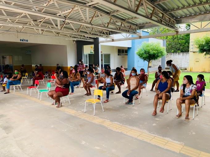 Matões: Coordenação Pedagógica da Secretaria de Educação visita escolas da Zona Urbana e Rural