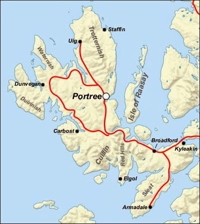 mappa Skye