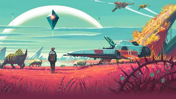 اهم 10 العاب كمبيوتر منتظرة فى عام 2016 لعبة No Man's Sky