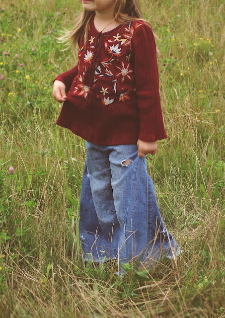 flare jeans dIY