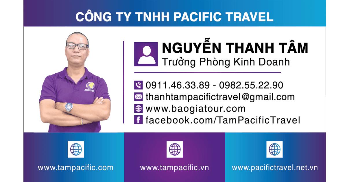 Giới Thiệu Tâm Pacific Travel