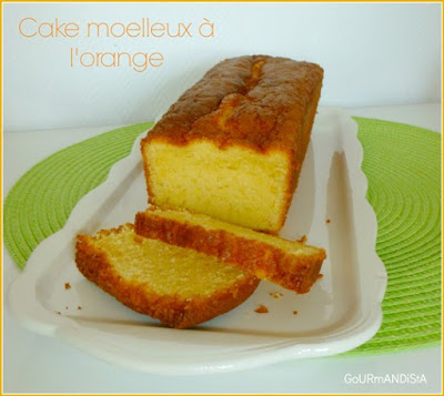 image-Cake moelleux à l'orange