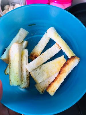 Roti Bakar Sapu Unsalted Butter [Resepi Masak]