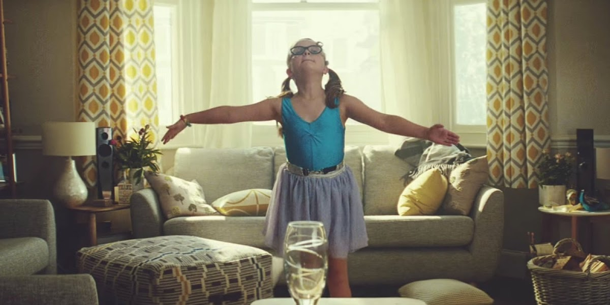 """Tiny Dancer"" John Lewis Home Insurance Advert 2015"