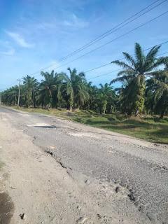 Masyarakat Keluhkan Jalan Lintas Kisaran - BP. Mandoge Sangat Memprihatinkan