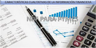 Caracteristicas cualitativas de la informacion financiera