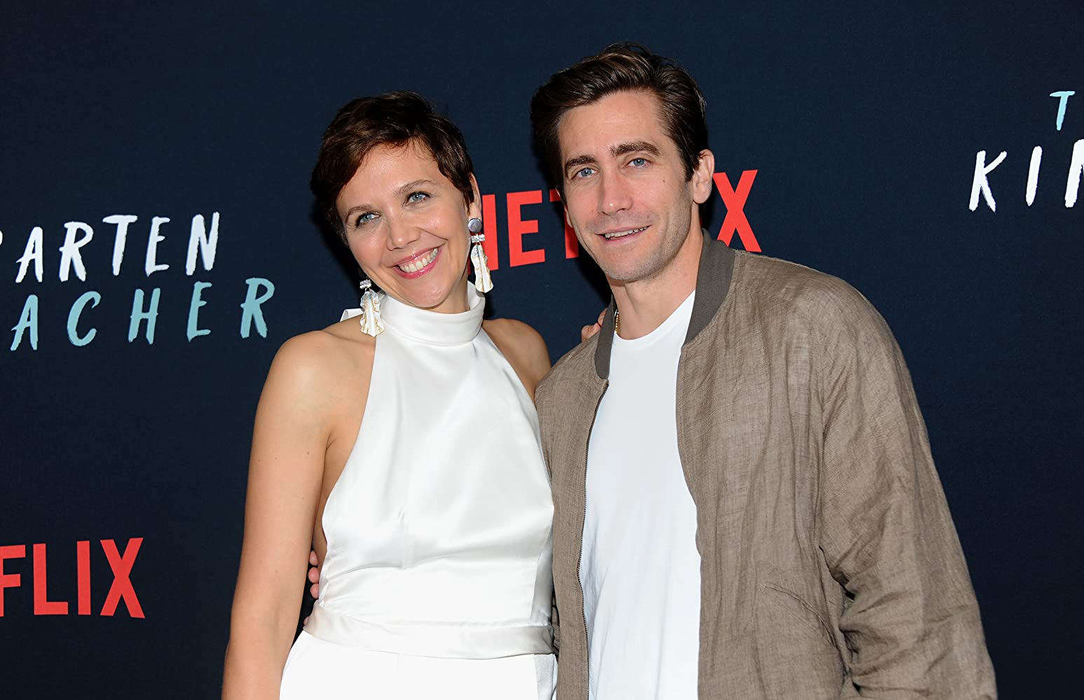 Jake Gyllenhaal and Maggie Gyllenhaal