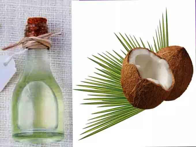 बाल उगाने का आयुर्वेदिक का नारियल तेल