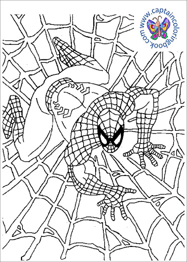 Spiderman Coloring Pages PDF Download For Free!