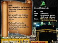 Simposium Kesehatan Haji Palembang 13 Oktober 2018