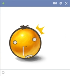 Shocked Facebook Emoticon
