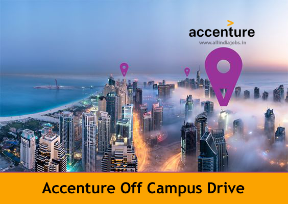 Accenture Off Campus 2018 Drive For Freshers | Online