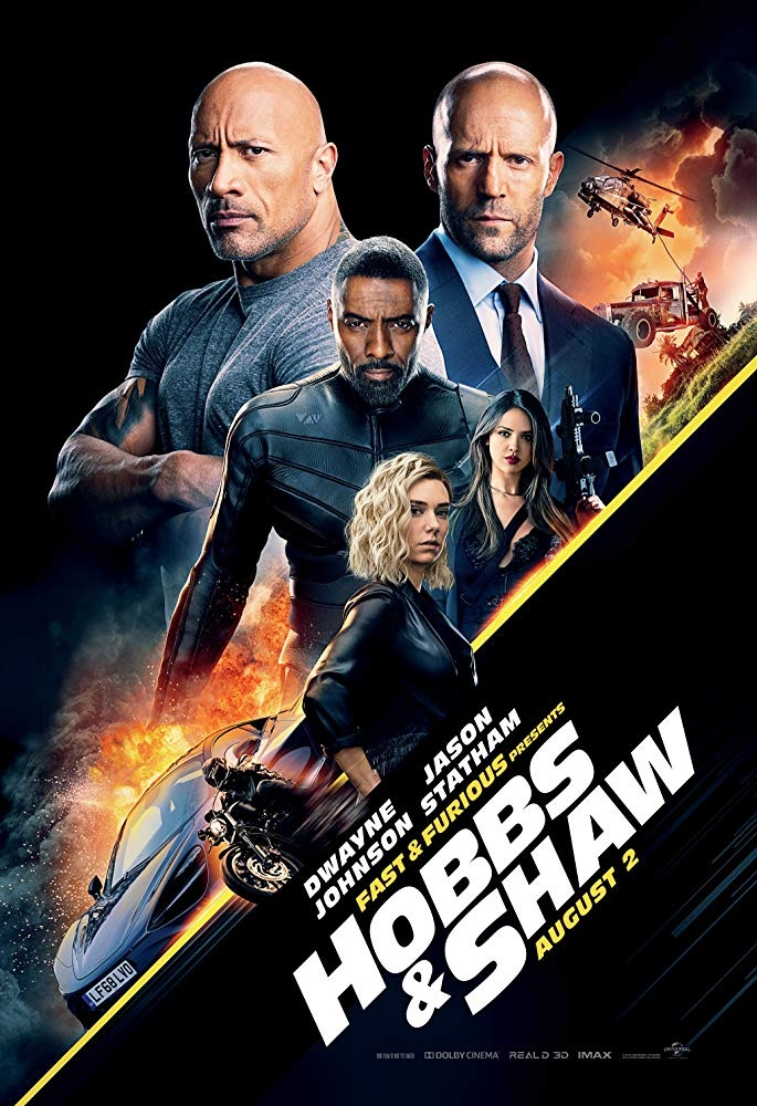 Fast & Furious Presents: Hobbs & Shaw Theatrical Poster