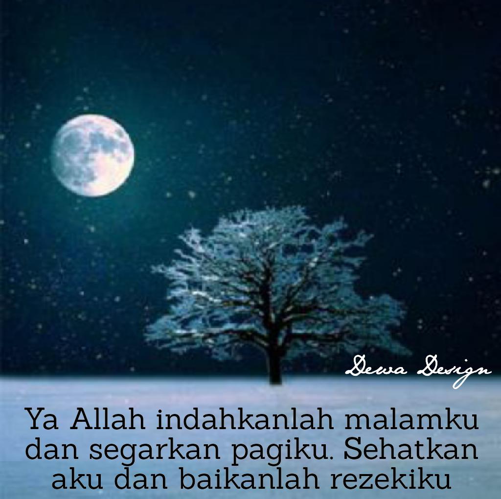 Kata Kata Doa Malam Hari Islam
