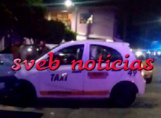 Ejecutan a presunto taxista en Cordoba Veracruz