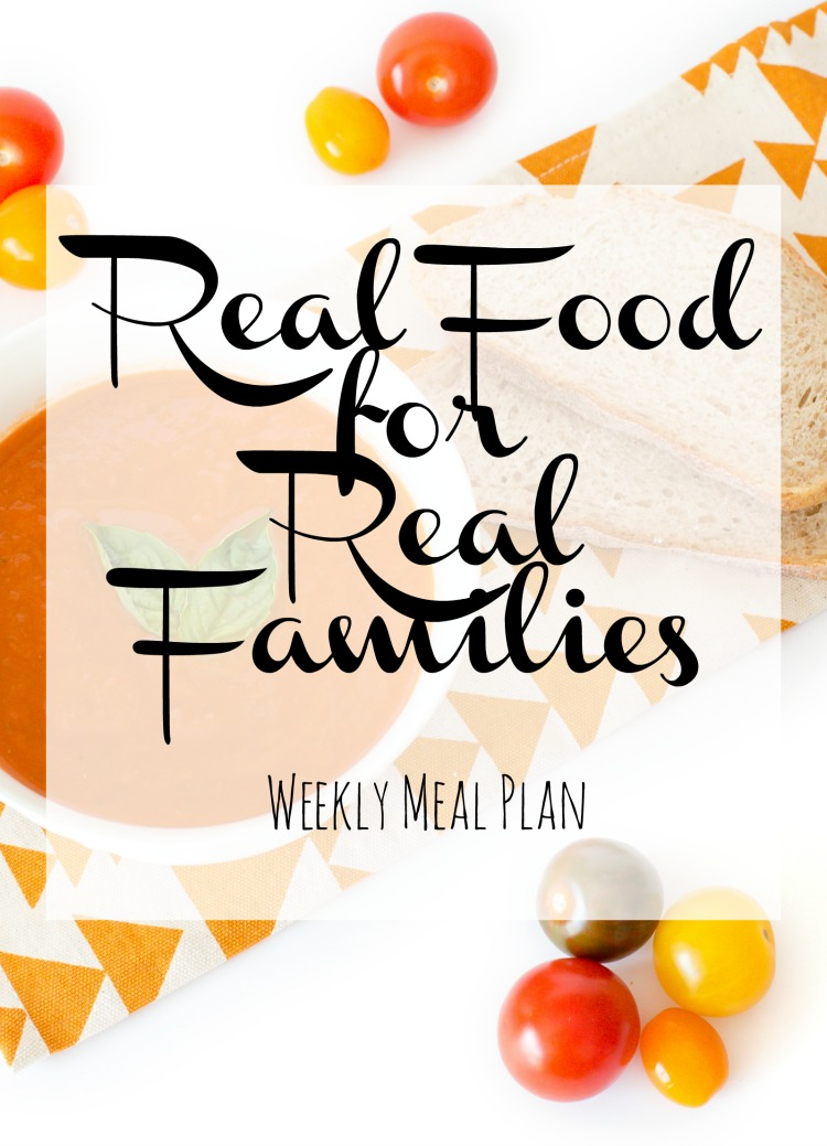 Weekly Family Meal Plan 2017 Week 37