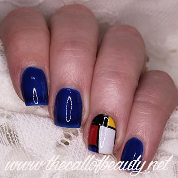 Mondrian Nails