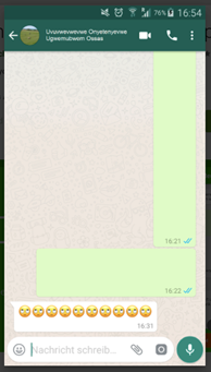 Blank Messages