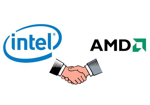 شراكة بين Intel وAMD لاطلاق وحدة معالجة مركزية  لمواجهة نيفيديا