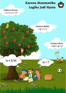 Poster Karena matematika, logika jadi nyata