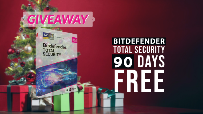 Bitdefender TOTAL SECURITY 2021 Christmas-Giveaway