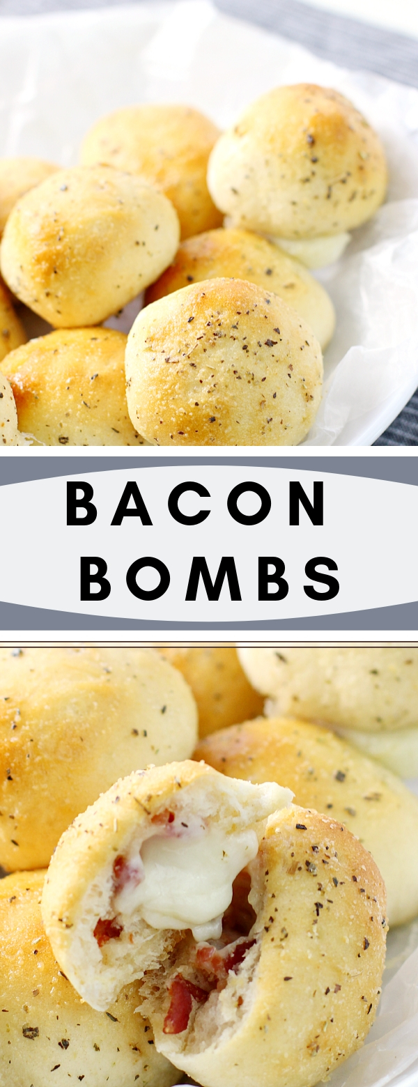 BACON BOMBS #SNACK #APPETIZER #BACON