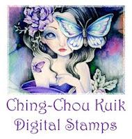 Ching-Chou Kuik's Digital Stamps Etsy Store