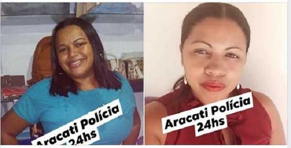 Duas mulheres presas por tráfico de drogas no Beberibe-CE