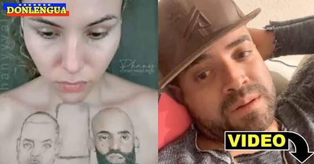 Nacho agradecido porque una fan lo dibujó junto a Arkangel sobre sus senos