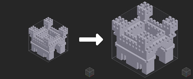 How to Scale a Model in MagicaVoxel