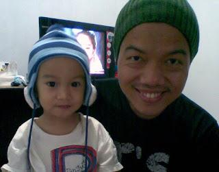 photo Tere Liye dengan anaknya