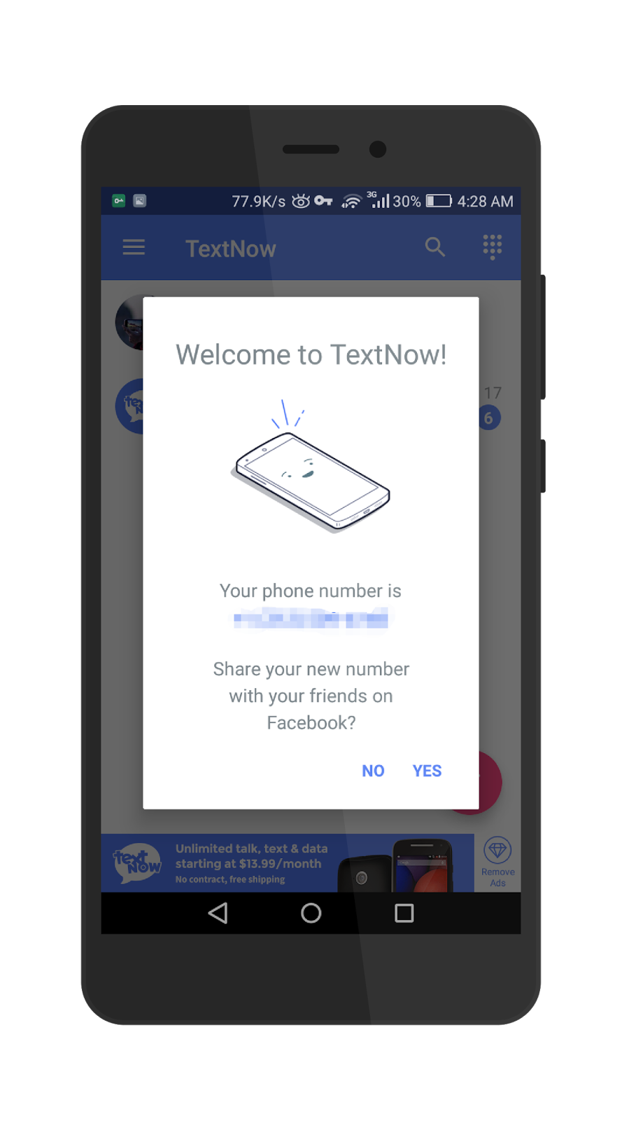 can you track a textnow number