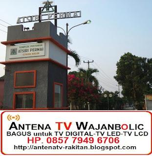 Jual ANTENA TV WAJANBOLIC Atsiri Permai Citayam Depok