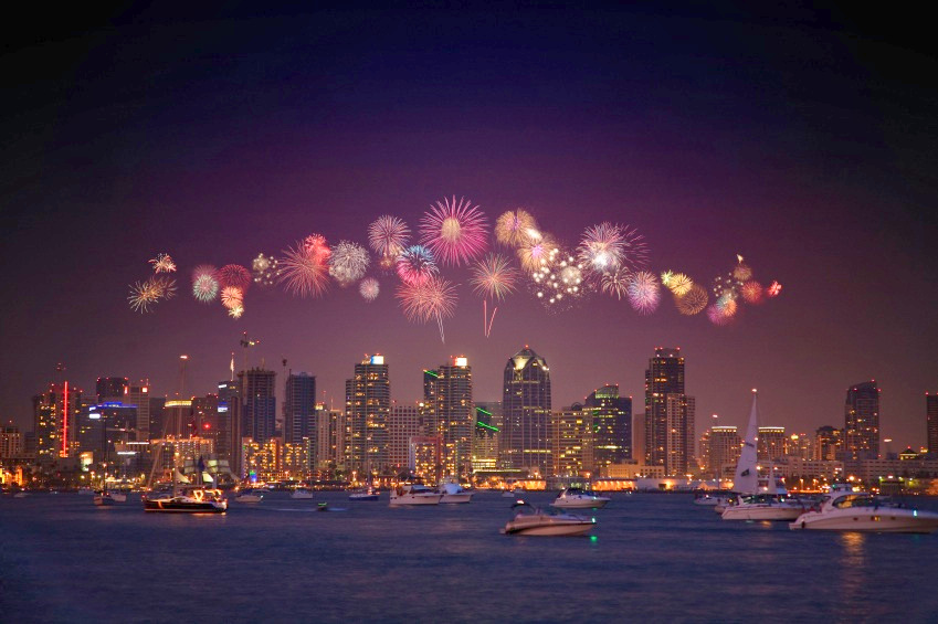 Image result for new year san diego