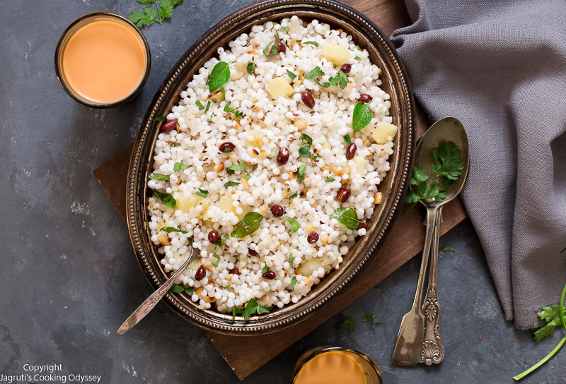 serving suggesion for sabudana khichdi