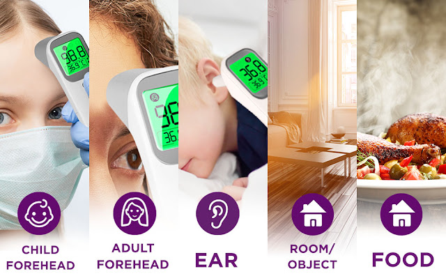 How to use infrared body temperature detector?