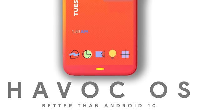 √ Cara Custom Rom Havoc-OS Android 10 di Remdi 5A 100% Berhasil