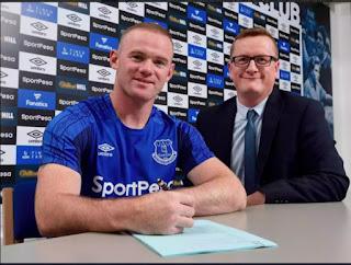 Rooney Returns To Everton